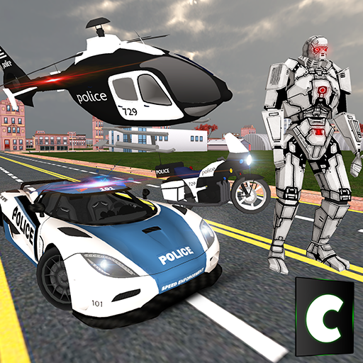 Police Transform Robot Hero (game)