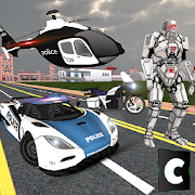 الشرطة تحويل روبوت