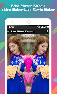 Echo Mirror Effects Video Maker-Live Movie Maker - Apps en