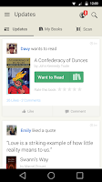 Screenshot of Goodreads