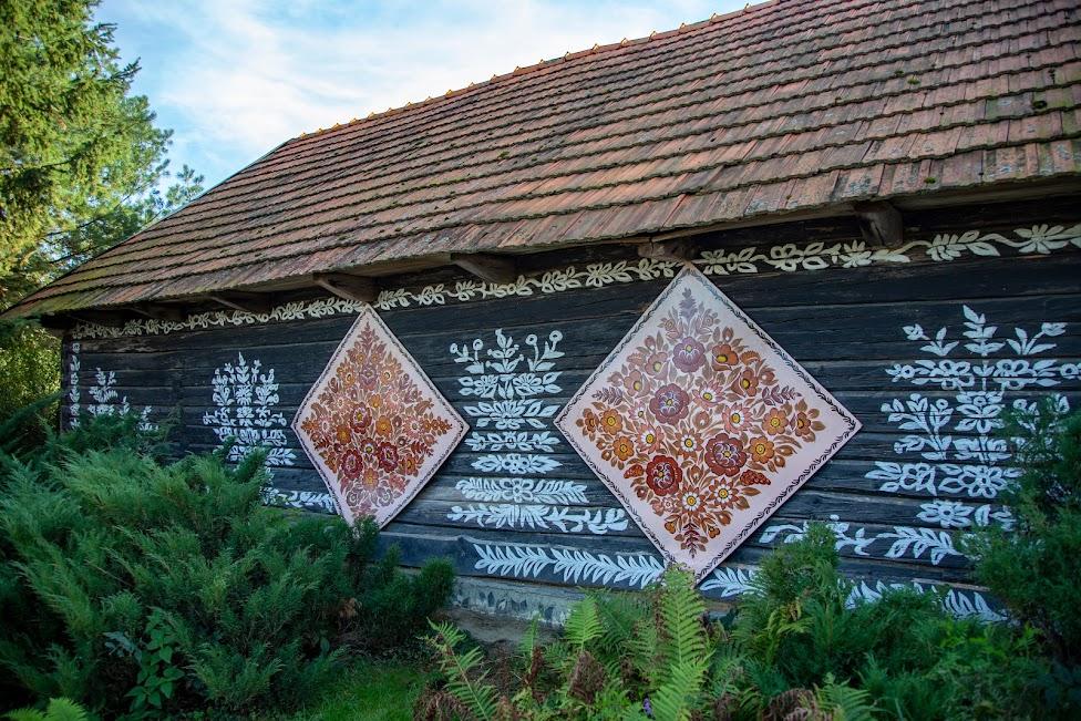 Zalipie, malowane chaty