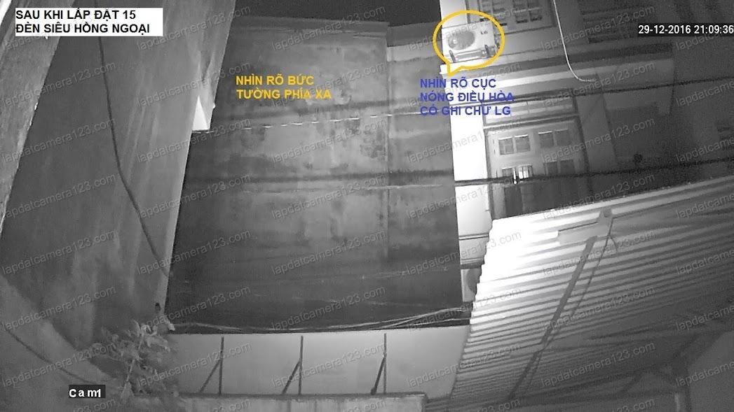 Chưa lắp siêu led hồng ngoại Đèn hồng ngoại hỗ trợ camera nhìn đêm