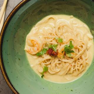 Thai Curry Noodle Soup.