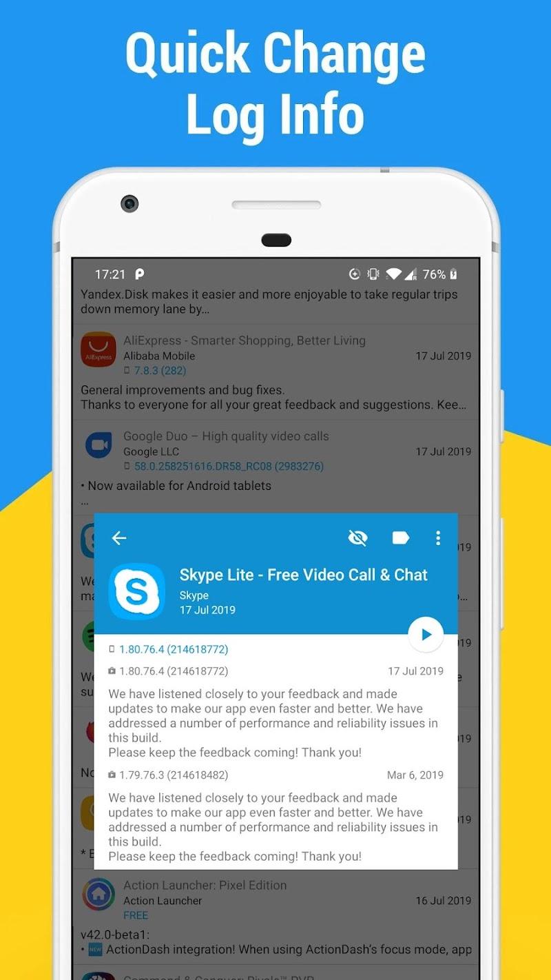 App Watcher: Check Update Screenshot 1
