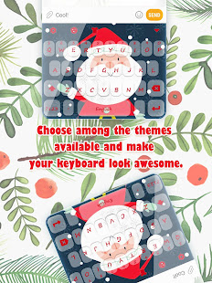 Christmas Snow Keyboard Theme for Girls for PC-Windows 7,8,10 and Mac apk screenshot 6