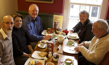 Photo: The Last Breakfast at the Humble Pie, Note Jim's plate!