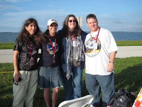 Photo: Tranquility Base roomies - Karyn, me, Heather, Chris