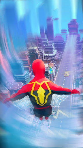 Super Heroes Fly: Sky Dance - Running Game modavailable screenshots 5