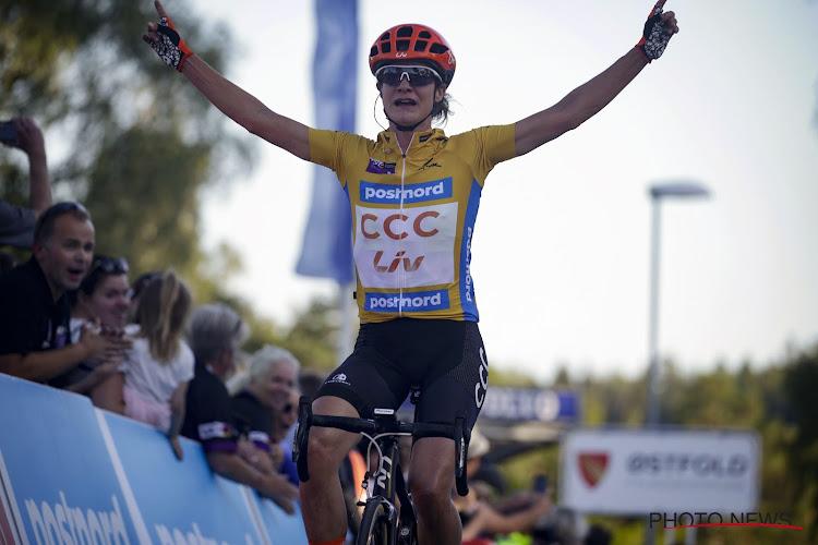 Marianne Vos voert bisnummer op: magistrale solo gevolgd door winst na sprint met twee