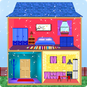 Princess Doll House Design and Decoration icon