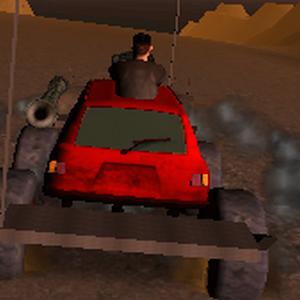 Death Race  Missile Shooting Car Killer