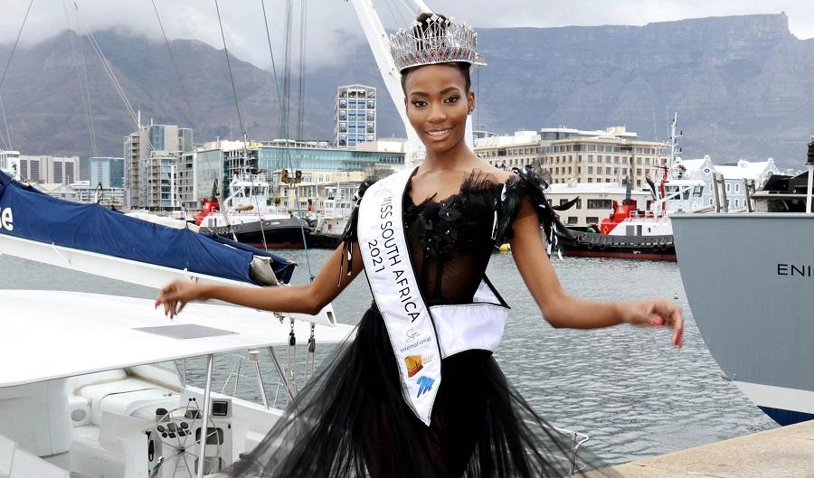 President Ramaphosa praises new Miss SA