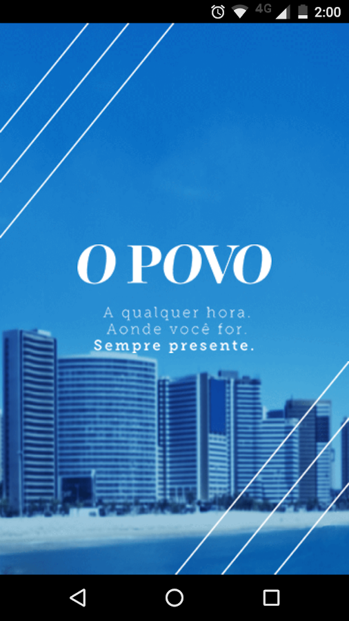 O POVO Digital: captura de tela