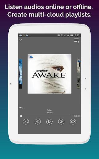 Cloudist - Free Cloud Music Player 8.4 screenshots 10