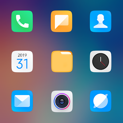 MIUI 11 - ICON PACK Screenshot Image