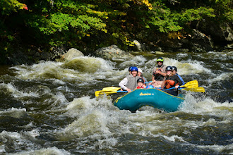 Photo: Rafting on the West River at Jamaica State Park by Bill Steele