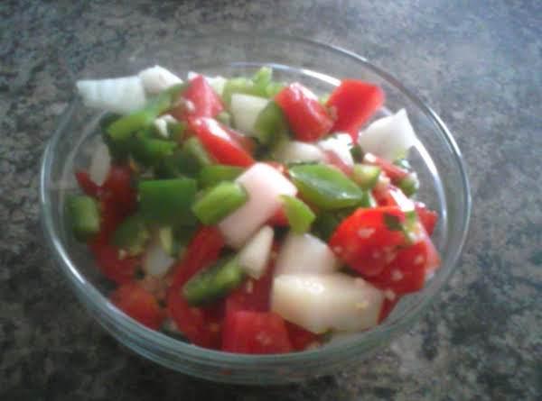 Salsa Cruda 1 In A Bowl