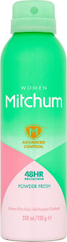 Mitchum Women 48H Protection Anti-Perspirant & Deodorant Spray - Powder Fresh, 200ml