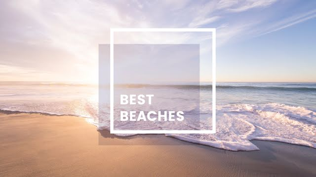 The Best Beaches - YouTube Thumbnail Template