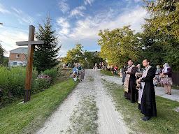 Хресна дорога на Заліссі (смт Івано-Франкове), 13 серпня 2021 р. Б.