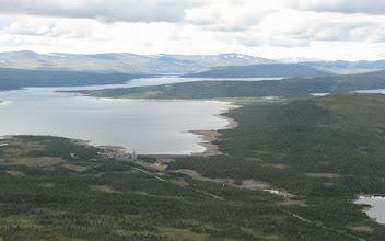 Photo: Kraftverksbygge vid Abelvattnet