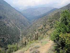 Photo: Day 3 - After lunch we head back east into the Andes to 9,000 feet+ near the Farellones ski resort