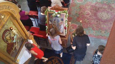 Photo: Η επόμενη ημέρα της Δευτέρας, όπου η Εκκλησία μας εορτάζει το γενέσιο του  Προφήτου Προδρόμου και Βαπτιστού Ιωάννη,(οπου φέτος συνέμπεσε με την εορτή του Αγίου Πνεύματος) ξεκίνησε η Πανηγυρική Θεία Λειτουργία.