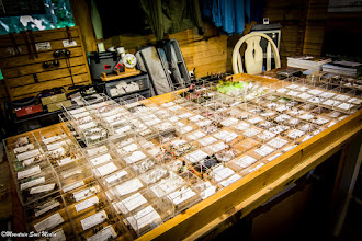 Photo: Fly selection in our Shop