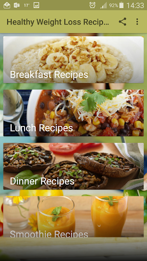 Healthy Weight Loss Recipes 1.4 screenshots 1
