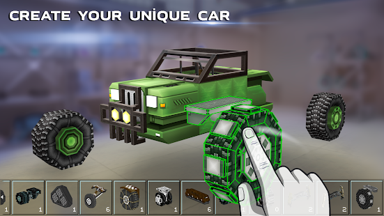 Game Blocky Cars - Online Shooting Game APK for Windows Phone