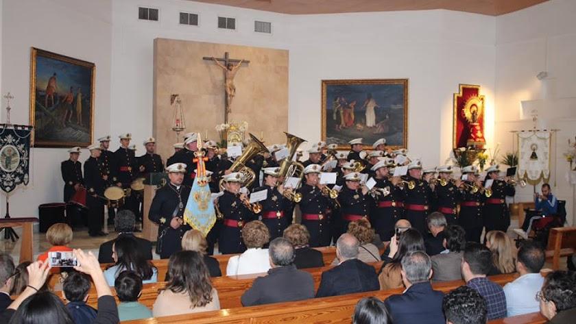 Imagen de Facebook de la Agrupación Musical Santa María de la Paz de El Ejido.