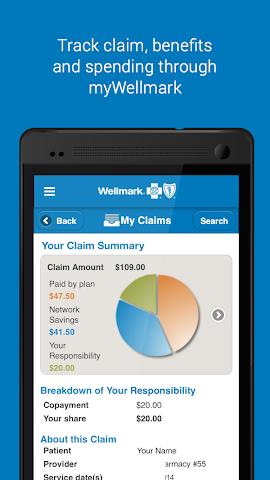 android Wellmark® Screenshot 4