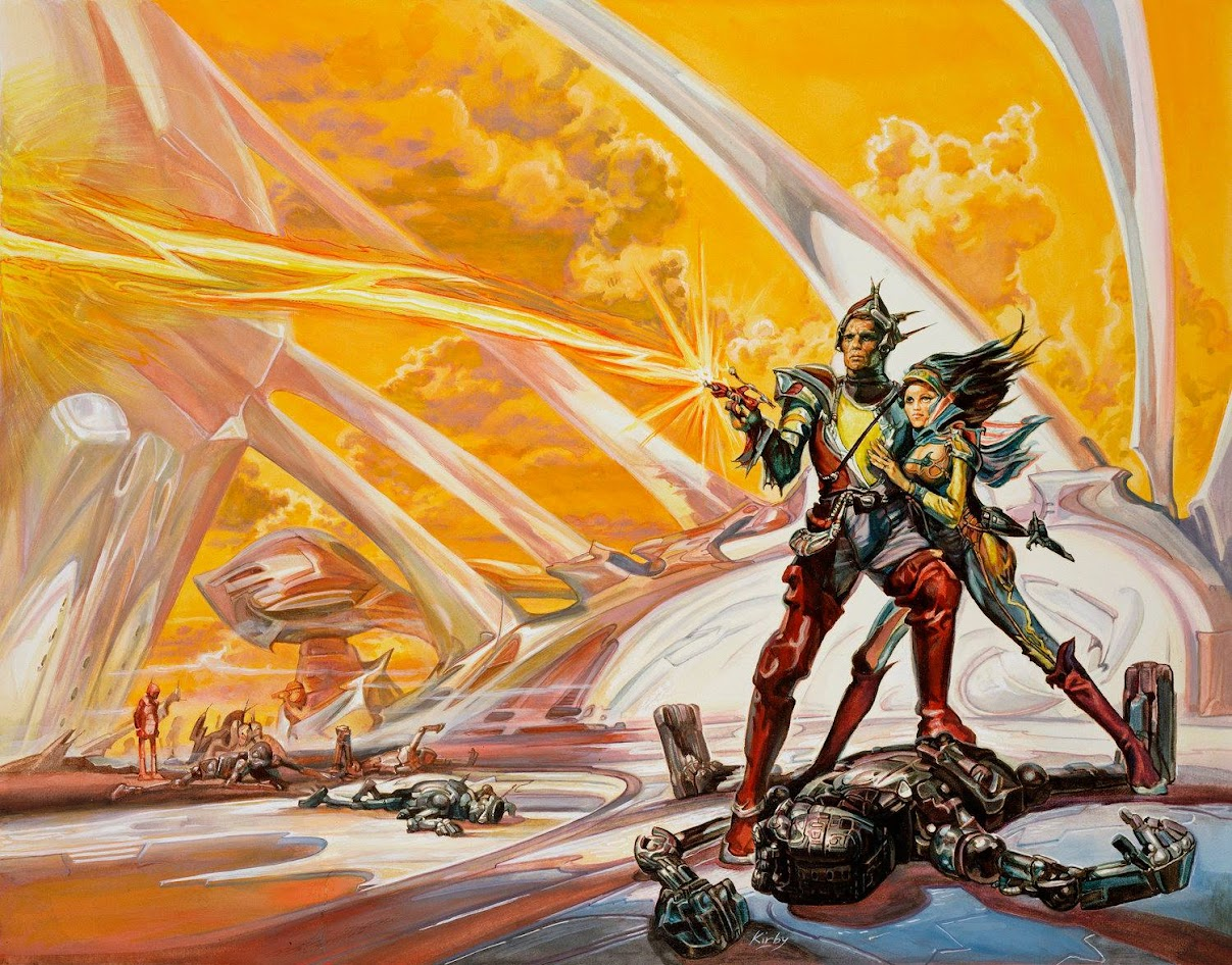 Dark Roasted Blend Drb Pics Of The Day Grand Space Adventure 1970s Art