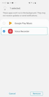 Samsung Voice Recorder Screenshot