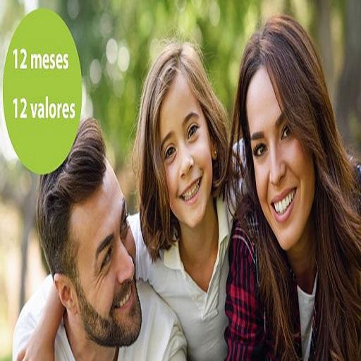 12 meses 12 valores para padres e hijos
