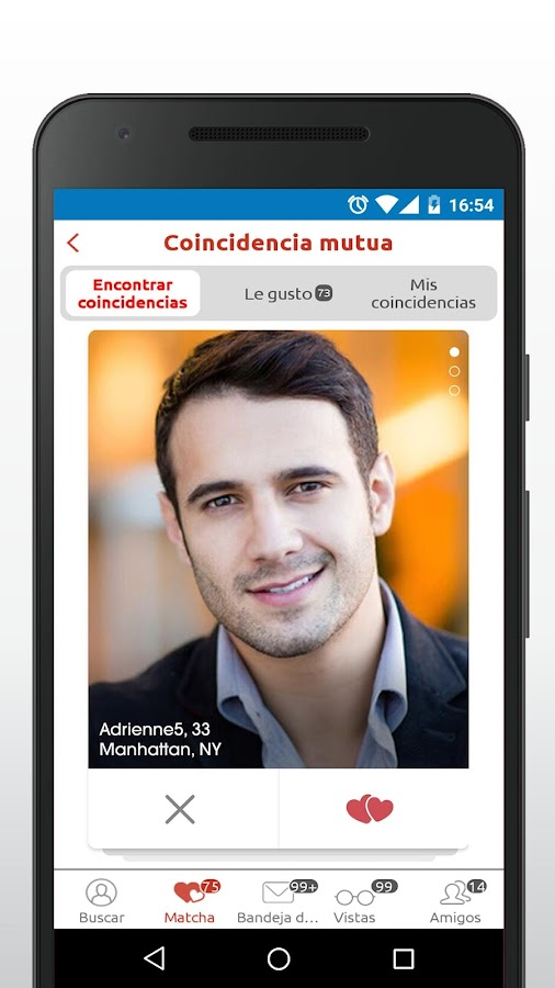 Mingle2 chat,haz amigos,conoce: captura de pantalla