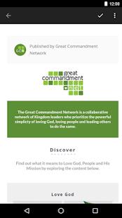 Great Commandment Network - náhled