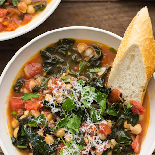 Kale and Chickpea Tomato Stew