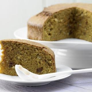 Moist Carrot-Walnut Cake