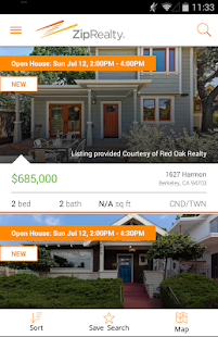 ZipRealty Real Estate & Homes- screenshot thumbnail