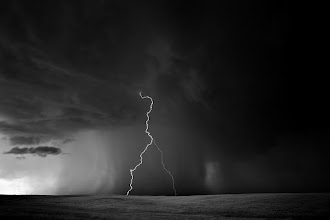 Photo: Lightning Storm: Davidson Wyoming