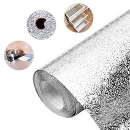 Folie de aluminiu autoadeziva bucatarie 60 x 200 cm