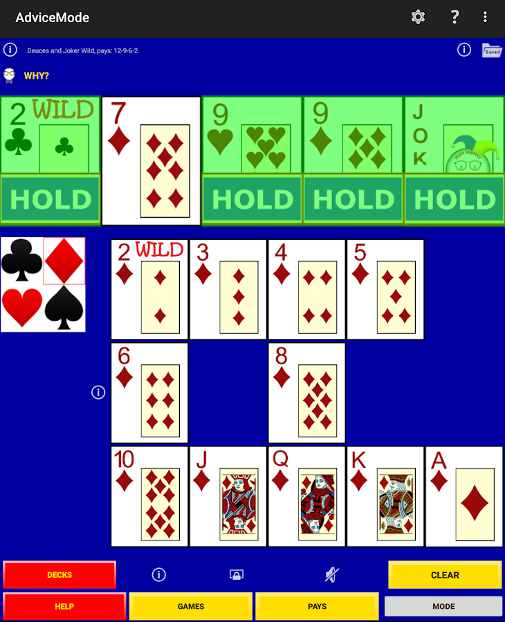 Play Perfect Video Poker Pro+- screenshot