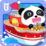 Little Panda Captain Icon