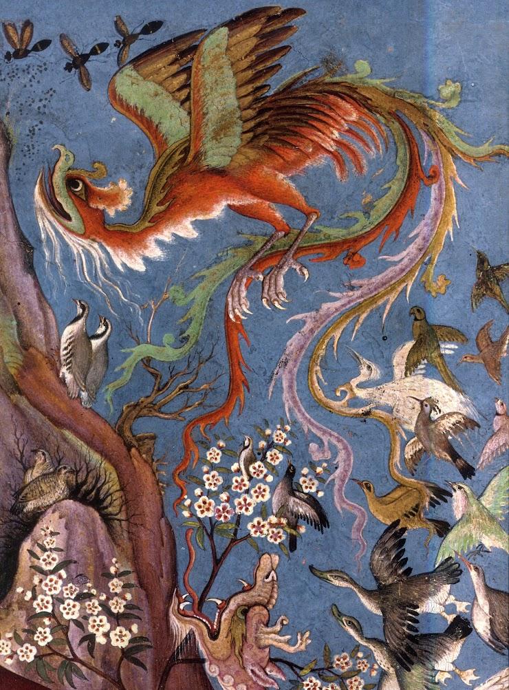 Le Cantique des oiseaux, Diane de Selliers Éditeur, image de couverture.