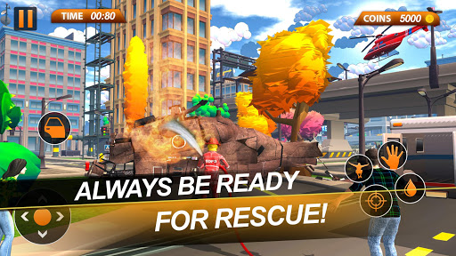 Fire Truck Emergency City Rescue: HQ Mission Sims 1.0 de.gamequotes.net 5