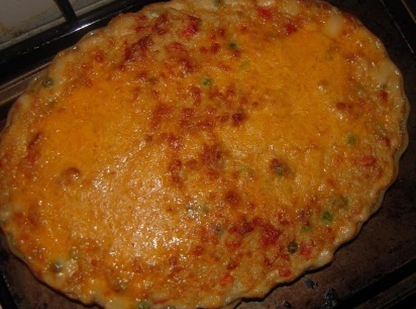 Add remaining 1/2 of cheese to the top of casserole or top with crushed...