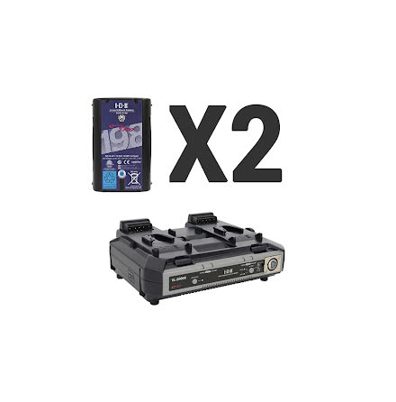 Endura 2x DUO-C198 + 1 x VL-2000S