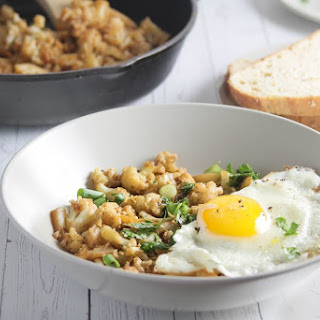 THE BEST CAULIFLOWER SKILLET HASH