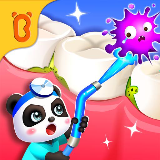 Bebê Panda: dentista